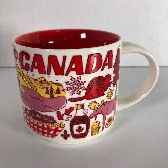 2007 STARBUCKS Canada Been There Series mug